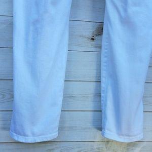"GAP Jeans - Gap Skinny Roll-Up jeans ""18"" white pristine"
